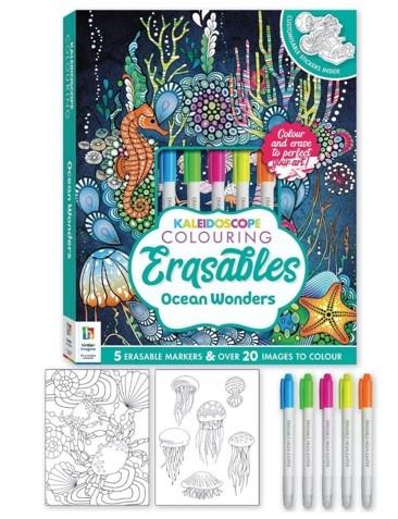 Kaleidoscope Colouring Erasables: Ocean Wonders -