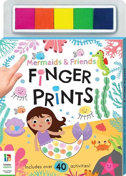 Mermaids & Friends Finger Prints Kit -