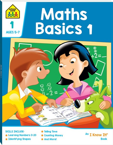 School Zone Maths Basics 1 I Know It Book - pr_428788