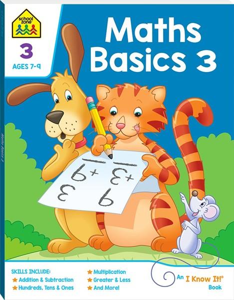 Maths Basics 3: An I Know It! Book (2019 Ed) -