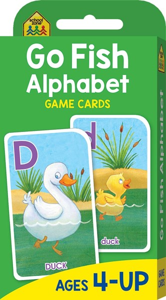 School Zone: Go Fish Alphabet Game Cards (2017 Ed) -