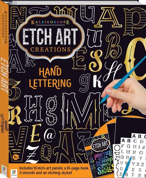 Kaleidoscope Etch Art Creations: Hand Lettering - pr_428794