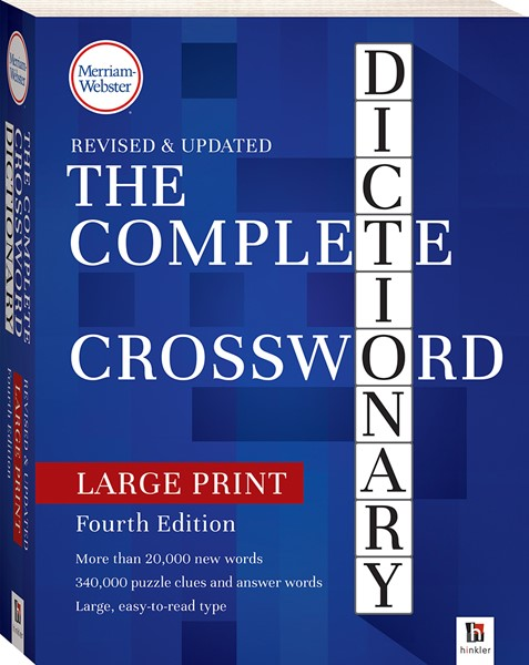 Merriam-Webster Complete Crossword Dictionary 4th Edition - pr_428793
