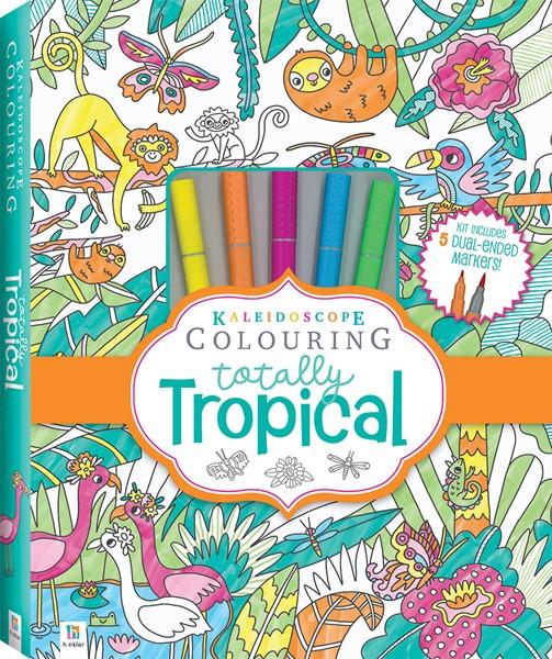 Kaleidoscope Colouring Totally Tropical Marker Kit -