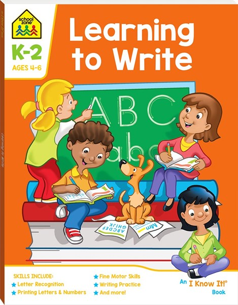 School Zone Learning to Write I Know It Book - pr_428800