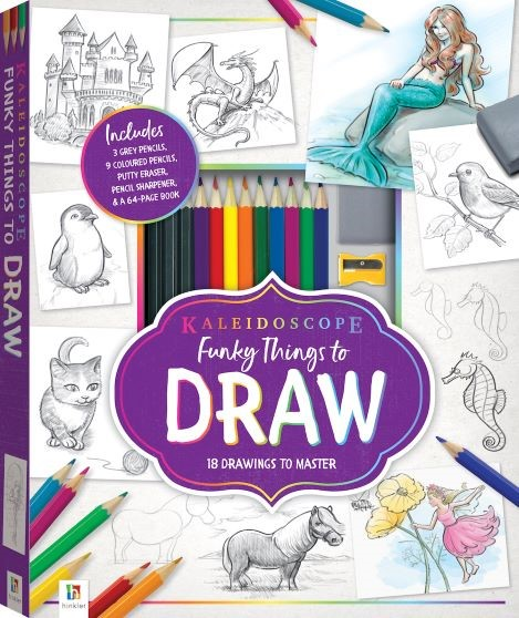Funky Things To Draw Mythical Creatures -