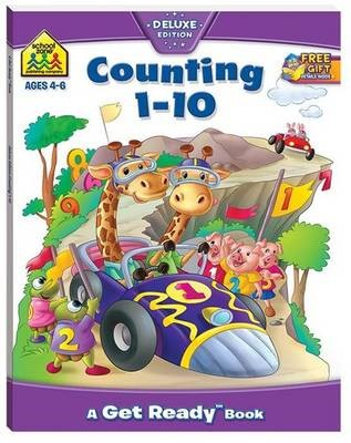 School Zone Counting 1-10 Get Ready Book - pr_421855