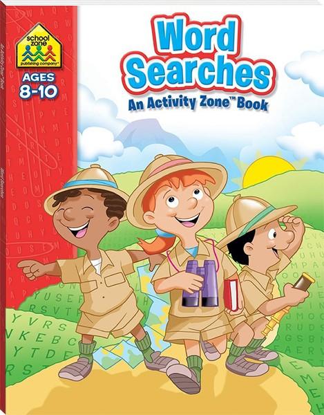 School Zone Word Searches Activity Zone Book - pr_421864