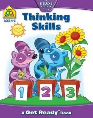 School Zone Thinking Skills Get Ready Book - pr_421856