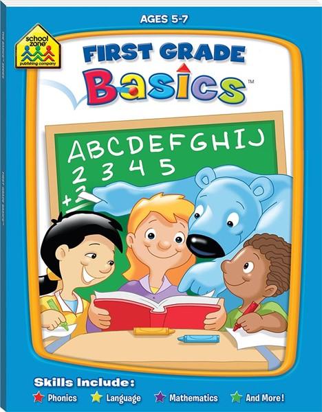 School Zone: First Grade Basics - pr_1885903