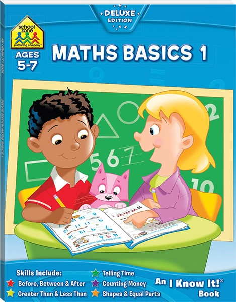 School Zone Maths Basics 1 I Know It Book - pr_1701022
