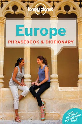 Lonely Planet Europe Phrasebook & Dictionary -