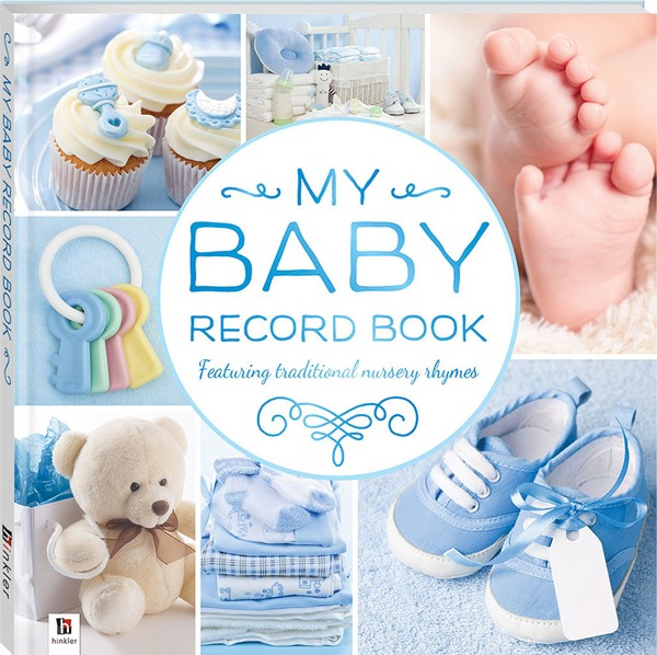 Baby Record Book - Blue - pr_428893