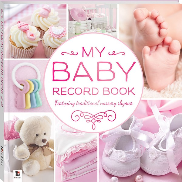 Baby Record Book - Pink - pr_428895