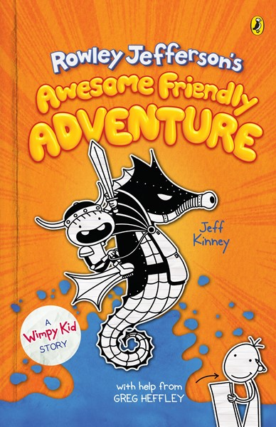 Diary of an Awesome Friendly Kid Book 2: Rowley Jefferson's Awesome Friendly Adventure - pr_1761402