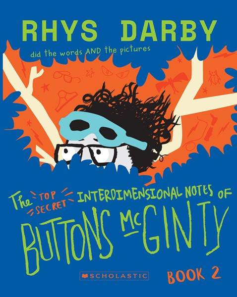 The Top Secret Interdimensional Notes of Buttons McGinty: Book 2 - pr_430997