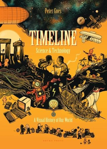 Timeline Science And Technology: A Visual History of Our World - pr_1837924