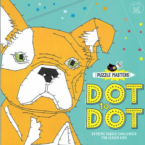 Puzzle Masters: Dot to Dot: Extreme Puzzle Challenges for Clever Kids - pr_1773635