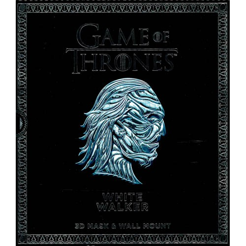 Game of Thrones Mask - White Walker: 3D Mask & Wall Mount - pr_1773560