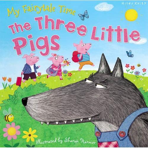 C24 Fairytale Time 3 Little Pigs -