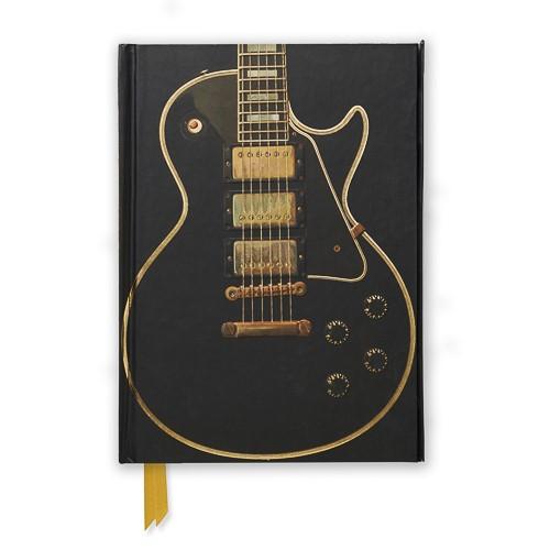Gibson Les Paul Black Guitar (Foiled Journal) - pr_1773487