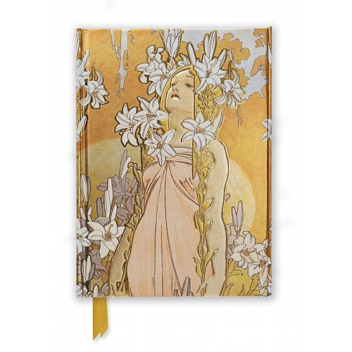 Mucha: The Flowers, Lily (Foiled Journal) - pr_1701032