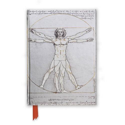 Da Vinci: Vitruvian Man (Foiled Journal) - pr_1700268