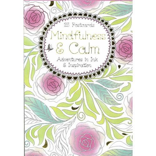 Mindfulness & Calm Postcard Book -