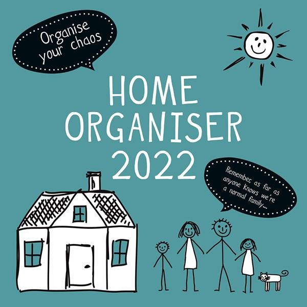 2022 Square Calendar Home Organiser -