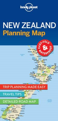 Lonely Planet New Zealand Planning Map - pr_180121