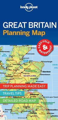 Lonely Planet Great Britain Planning Map - pr_170682