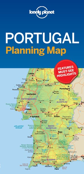 Lonely Planet Portugal Planning Map - pr_158951