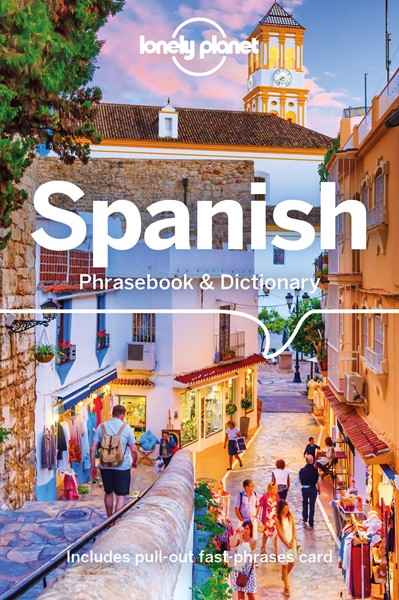 Lonely Planet Spanish Phrasebook & Dictionary - pr_351768