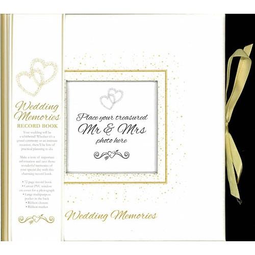 Wedding Memories: Record Book -