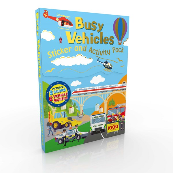 Sticker & Activity Pack Vehicles -