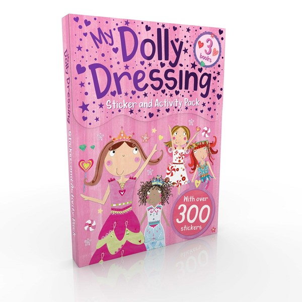 My Dolly Dressing Sticker and Activity Pack -