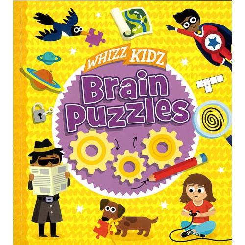 Whizz Kidz: Brain Puzzles -