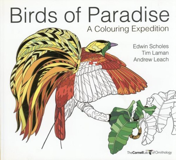 Birds of Paradise: A colouring expedition - pr_1775749