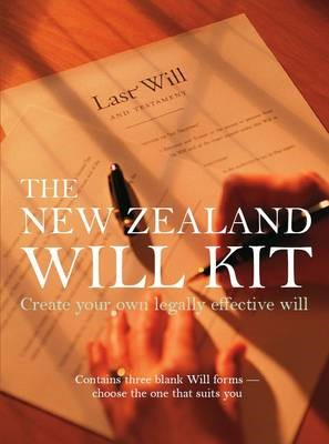 New Zealand Will Kit -