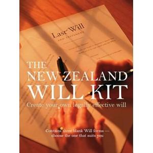 New Zealand Will Kit