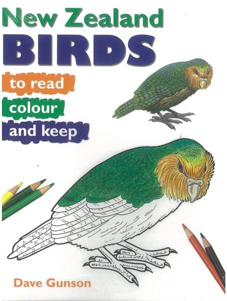 New Zealand Birds to Read, Colour & Keep - pr_1724242