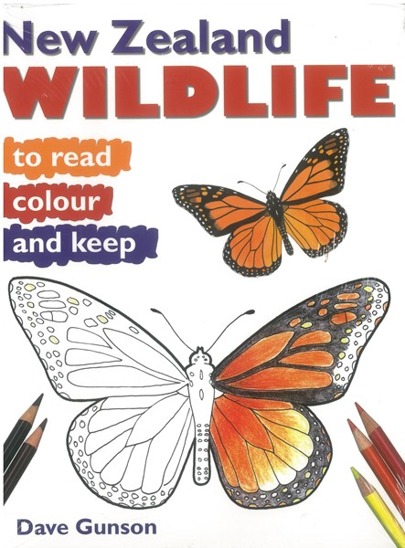 New Zealand Wildlife to Read, Colour & Keep - pr_1724239