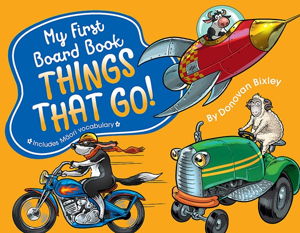 My First Board Book: Things That Go! -