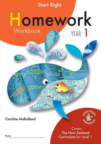 Sr Year 1 Homework Workbook - pr_422063