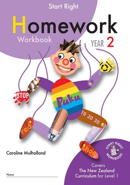 Sr Year 2 Homework Workbook - pr_422066