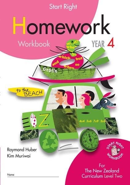 Sr Year 4 Homework Workbook - pr_422082