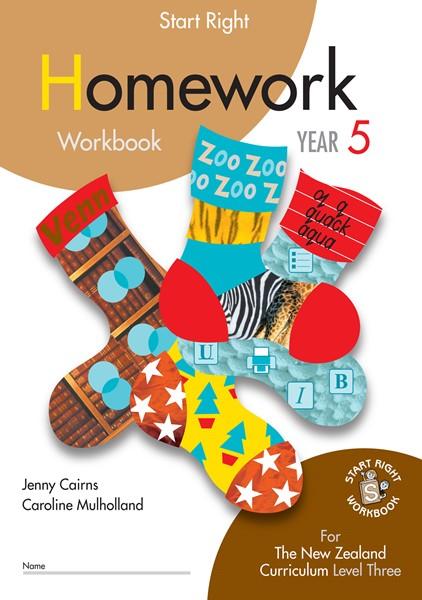 Sr Year 5 Homework Workbook - pr_422110