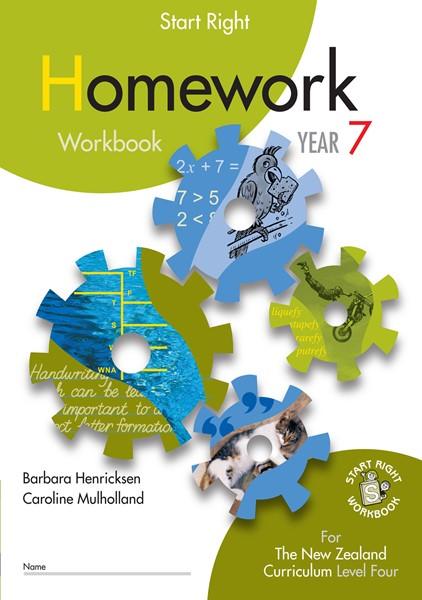 Sr Year 7 Homework Workbook - pr_422104