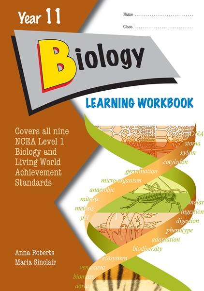 LWB Year 11 NCEA Biology Learning Workbook -