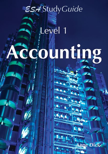 SG NCEA Level 1 Accounting Study Guide - pr_422087
